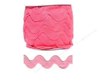 Cheep Trims Think Pink: Jumbo Ric Rac by Cheep Trims  1 13/32 in. Bright Pink (24 yards)