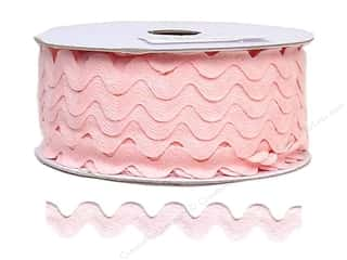 "Cheep Trims Ric Rac 11/16"": Ric Rac by Cheep Trims  11/16 in. Light Pink (24 yards)"