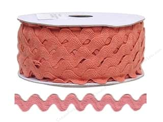 "Cheep Trims Ric Rac 11/16"": Ric Rac by Cheep Trims  11/16 in. Antique Mauve (24 yards)"