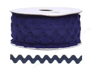 Ric Rac by Cheep Trims  11/16 in. Navy Blue