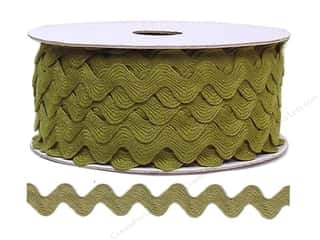 Ric Rac by Cheep Trims  11/16 in. Olive