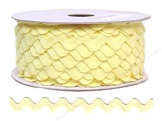 Ric Rac by Cheep Trims  11/16 in. Maize (24 yards)