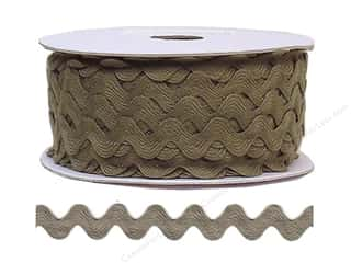 Ric Rac by Cheep Trims  11/16 in. Dark Taupe