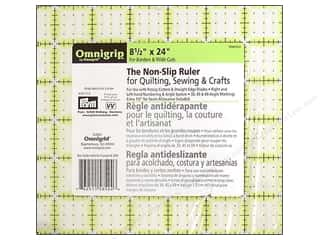 Omnigrid Omnigrip Non-Slip Neon Ruler 8.5&quot;x 24&quot;