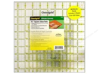Quilting Rulers: Omnigrid Rulers Value Pack # 2 4pc