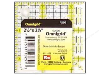 "Omnigrid Rotary Rulers & Templates: Omnigrid Rulers 2.5x2.5"" with Grid"