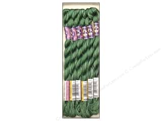 DMC Pearl Cotton Variations Size 5 #4045 Evergreen Forest (6 skeins)