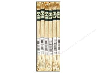 DMC Satin Embroidery Floss #S738 Golden Fawn (6 skeins)