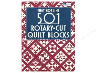 Judy Hopkins 501 Rotary Cut Quilt Blocks Book