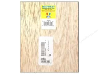 Midwest Balsa Wood Strips 3/16 x 6 x 36 in. (5 pieces)
