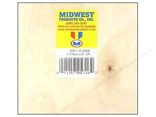 "Kids Crafts Hot: Midwest Craft Plywood 1/4""x 12""x 24"" (6 pieces)"