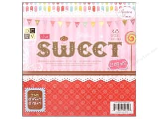 2013 Crafties - Best Scrapbooking Supply DieCuts Paper Stacks: DieCuts Paper Stack 8x8 Print Sweet