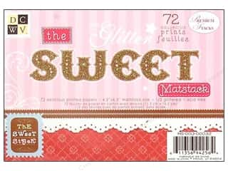 DieCuts Printed Mat Stack 6.5x 4.5 Sweet