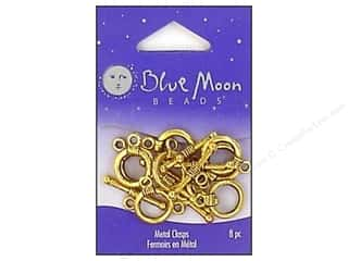 Blue Moon Clasps Toggle Small Gold 8pc