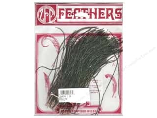 Zucker Feather Peacock Strung Flue 1""