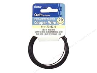 Scrapbooking & Paper Crafts Black: Darice Craft Wire 20 Ga Black 8yd