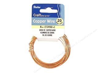 20 ga wire: Darice Craft Wire 20 Ga Copper 8yd