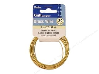 Darice Craft & Hobbies: Darice Craft Wire 20 Ga Gold 8yd
