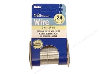 Wirework Darice Craft Wire: Darice Craft Wire 24Ga Silver 30yd