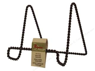 Clockmaking: Darice Display Stand 6 in. Twisted Wire Black