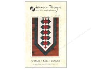 Patterns Clearance: Seminole Table Runner Pattern