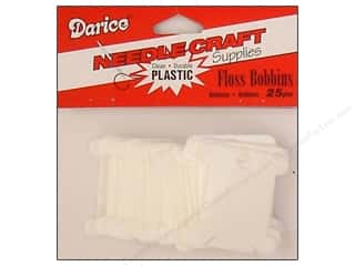 Plastics Crafts with Kids: Darice Floss Bobbins Plastic 25 pc