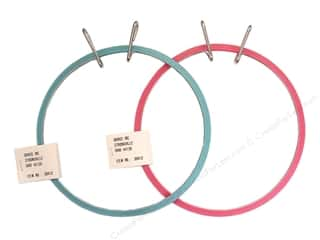 fabric embroidery hoop: Darice Spring Tension Hoop 7""