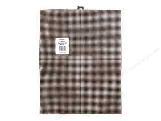 "Darice Plastic Canvas #7 10.5""x 13.5"" : Darice Plastic Canvas #7 10 1/2 x 13 1/2 in. Black Rectangle (12 sheets)"