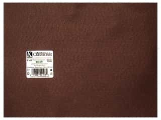 "Kunin Felt 9""x 12"" Cocoa Brown 24pc (24 sheets)"