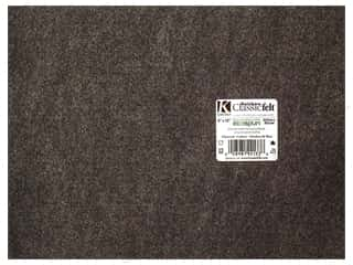 "Kunin Felt 9""x 12"" Charcoal Grey 24pc"