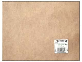 Felting Brown: Kunin Felt 9 x 12 in. Sandstone (24 sheets)