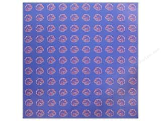 Scrapbooking: Sports Solution Paper 12x12 Boise State Blue (25 sheets)