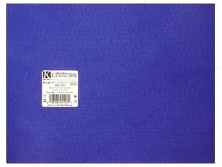 Plastics Blue: Kunin Felt 9 x 12 in. Royal Blue (24 sheets)