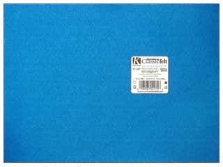 "Kunin Felt 9""x 12"" Neon Blue 24pc (24 sheets)"