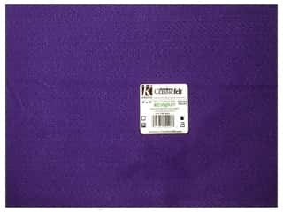 Eco Friendly /Green Products Kids Crafts: Kunin Felt 9 x 12 in. Purple (24 sheets)