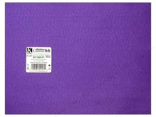 Glass 9 x 12: Kunin Felt 9 x 12 in. Orchid (24 sheets)