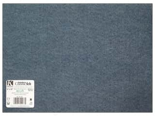 "Kids Crafts Kunin Felt 9""x 12"": Kunin Felt 9 x 12 in. Denim (24 pieces)"