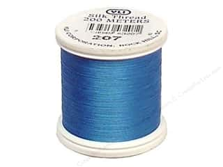 YLI: YLI Silk Thread 100 wt. 220 yd. Electric Blue