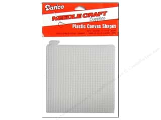 "Darice Plastic Canvas #7 10.5""x 13.5"" : Darice Plastic Canvas #7 Mesh 4 x 4 in. Clear Square"