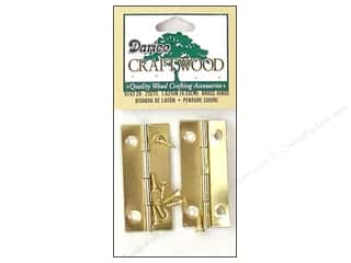 Darice Hardware Hanger Sawtooth 1.5&quot; 6pc