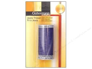 Gutermann Poly-Cotton Thread: Gutermann Jeans Thread Polyester/Cotton Washed 200m