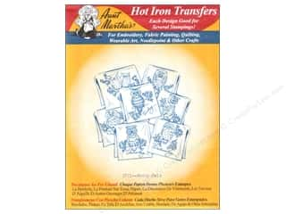 Aunt Martha's Hot Iron Transfer Red Hooty Owls