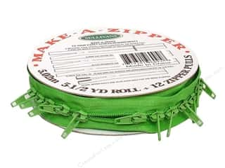 Zippers $1 - $2: Sullivans Make-A-Zipper Kit 5 1/2 yd. Medium Green