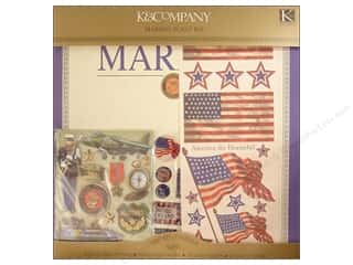 K&amp;Co Scrap Kit 12&quot;x 12&quot; Marine