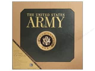 "Clearance Blumenthal Favorite Findings: K&Co Scrapbook Album 12""x 12"" Army"