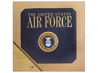 "Clearance Blumenthal Favorite Findings: K&Co Scrapbook Album 12""x 12"" Air Force"