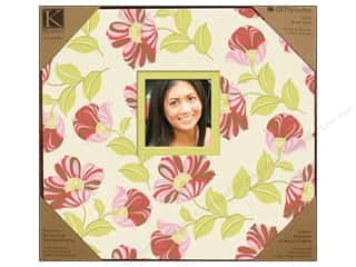 "Scrapbooking Flowers: K&Company Scrapbook Album 12""x 12"" Amy Butler Tea"