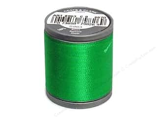 Coats Rayon Machine Embroidery Thread 225 yd. Field Green