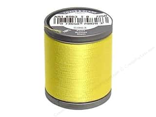 Coats Rayon Machine Embroidery Thread 225 yd. Sun Yellow