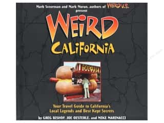 Clearance Books: Weird California Book